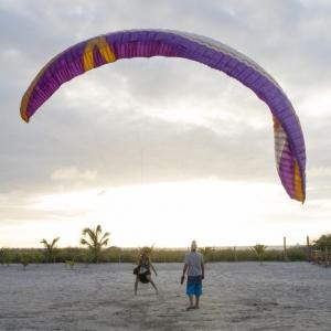 Paragliding Lesson -