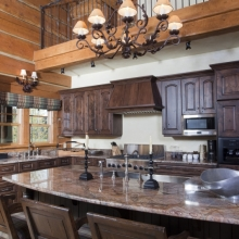 Founders Cabin Kitchen -