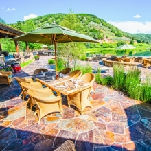 Lodge Patio -