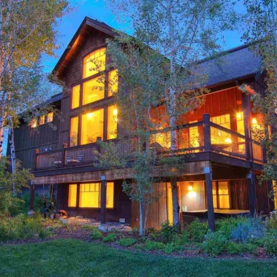 Fish Creek Home in Aspens - 3,251sf family home rich with architectural details and soaring 22-foot ceilings <br />