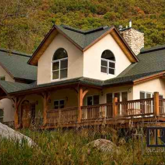 5,000 SF Home on Creek - Plenty of sunshine only minutes to town<br />
