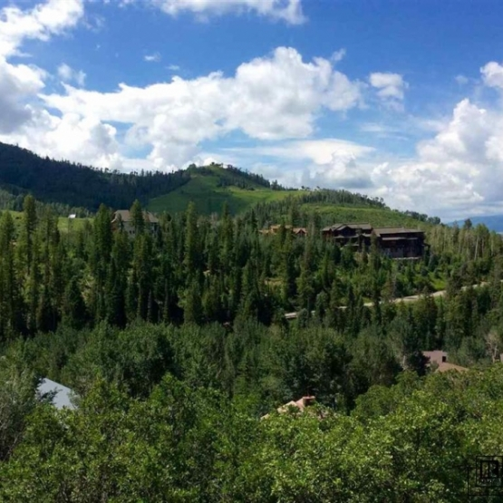 Ski Area Homesite - Gorgeous building site on the coveted Ridge Road with point blank views<br />