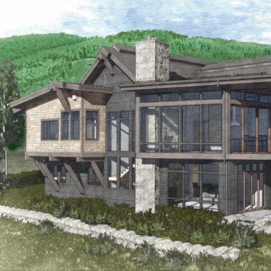 Mountain Masterpiece - New 2017 construction 5BR/6BA 5,700 sf luxury home<br />