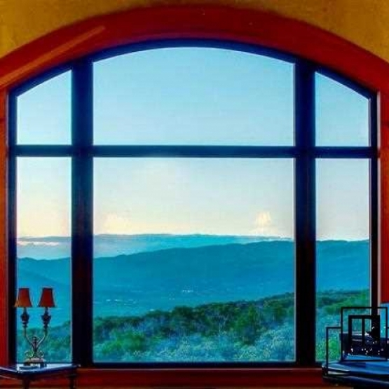 Perfect Steamboat Views - Home nestled perfectly on a broad ridge providing
