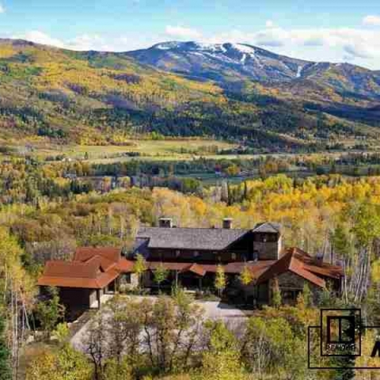 Red Bell Ranch - Custom mountain home with 4BD/5.5BA situated on 119 acres<br />
