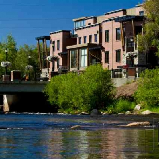 The Olympian #306 - Amazing downtown residence with private patio space and lovely ski area views. <br />