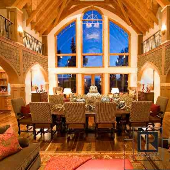 Tatanka Ridge Masterpiece - Perfection in every detail, magnificent lodge-style mountain home with nearly 8000 sf on 10 acres bordering national forest.<br />
