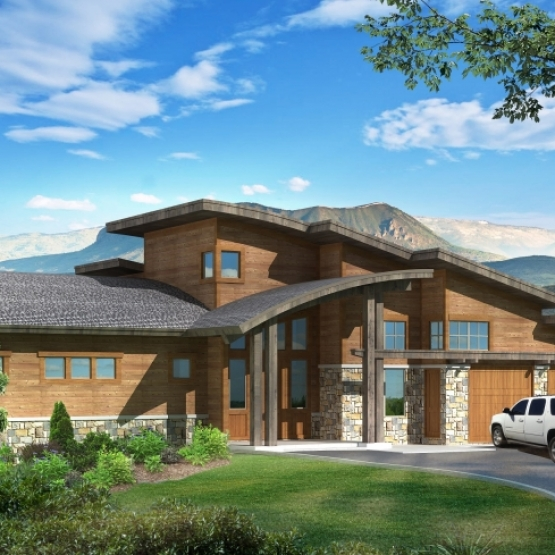 New Home on Natches - Custom home built by Dover Contruction in 2015 offering 4,000+ SF and panoramic views<br />