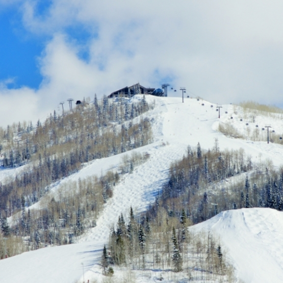 Mount Werner Views - Side by side lots & direct ski area views