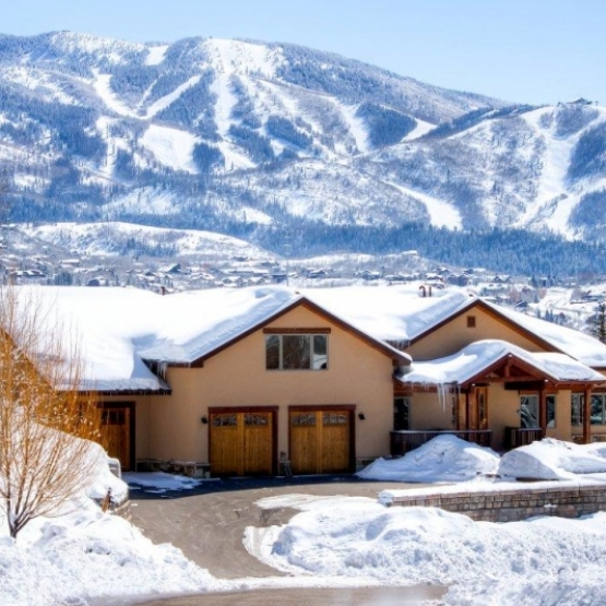Downtown Steamboat Home w/ Ski Views - 4500sf of beautifully appointed space, w/ unobstructed ski area views and privacy<br />