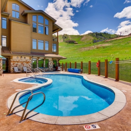 1/7 Christie Club Ownership - Unparalleled luxury, fully furnished 3BD/3BA condo nestled along the slopes of Steamboat ski area<br />
