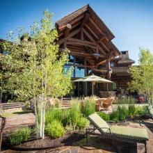Lodge Patio -